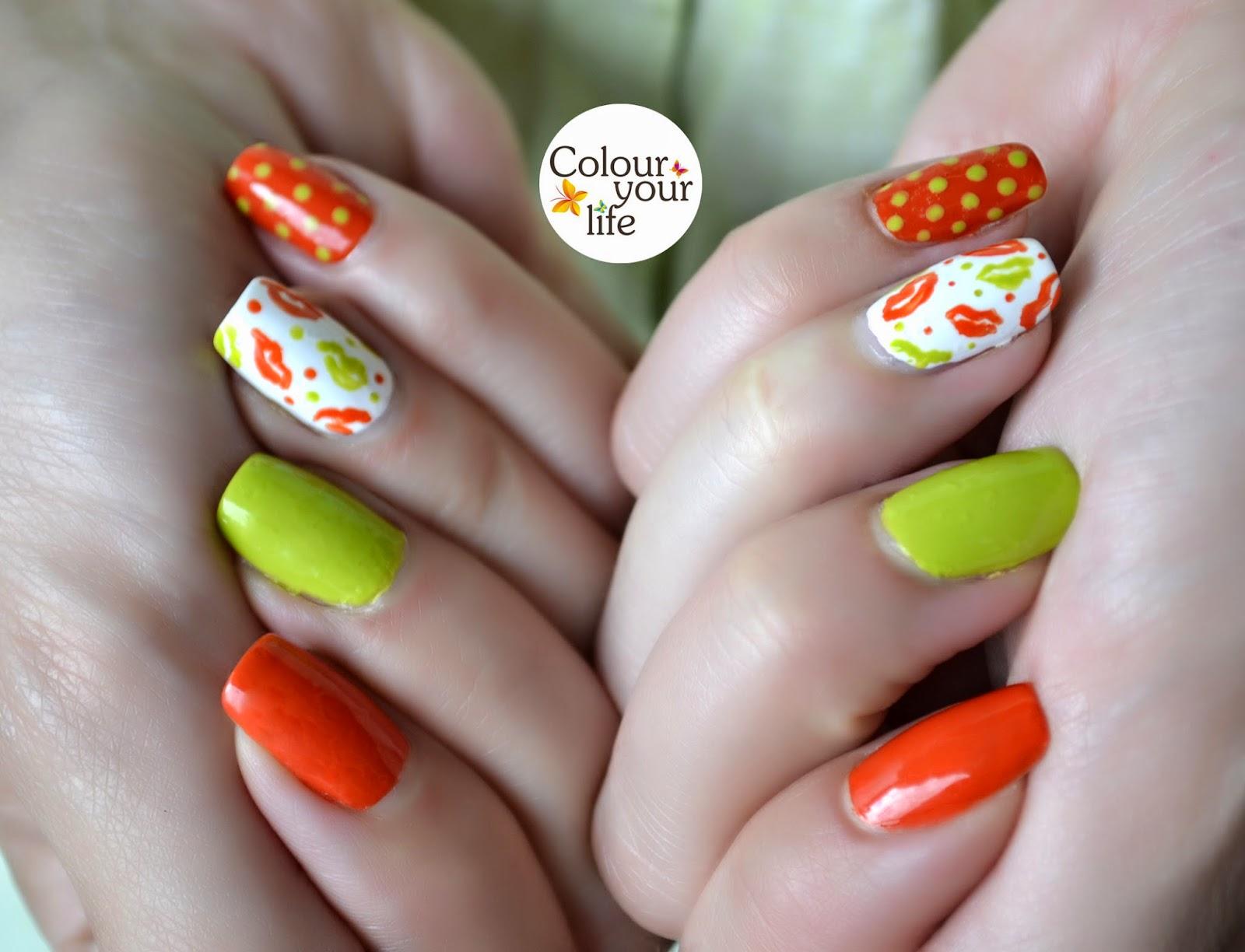 Colour your life: Alphabet nail art challenge
