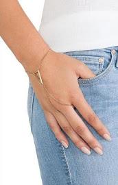 Triangle Ring Bracelet