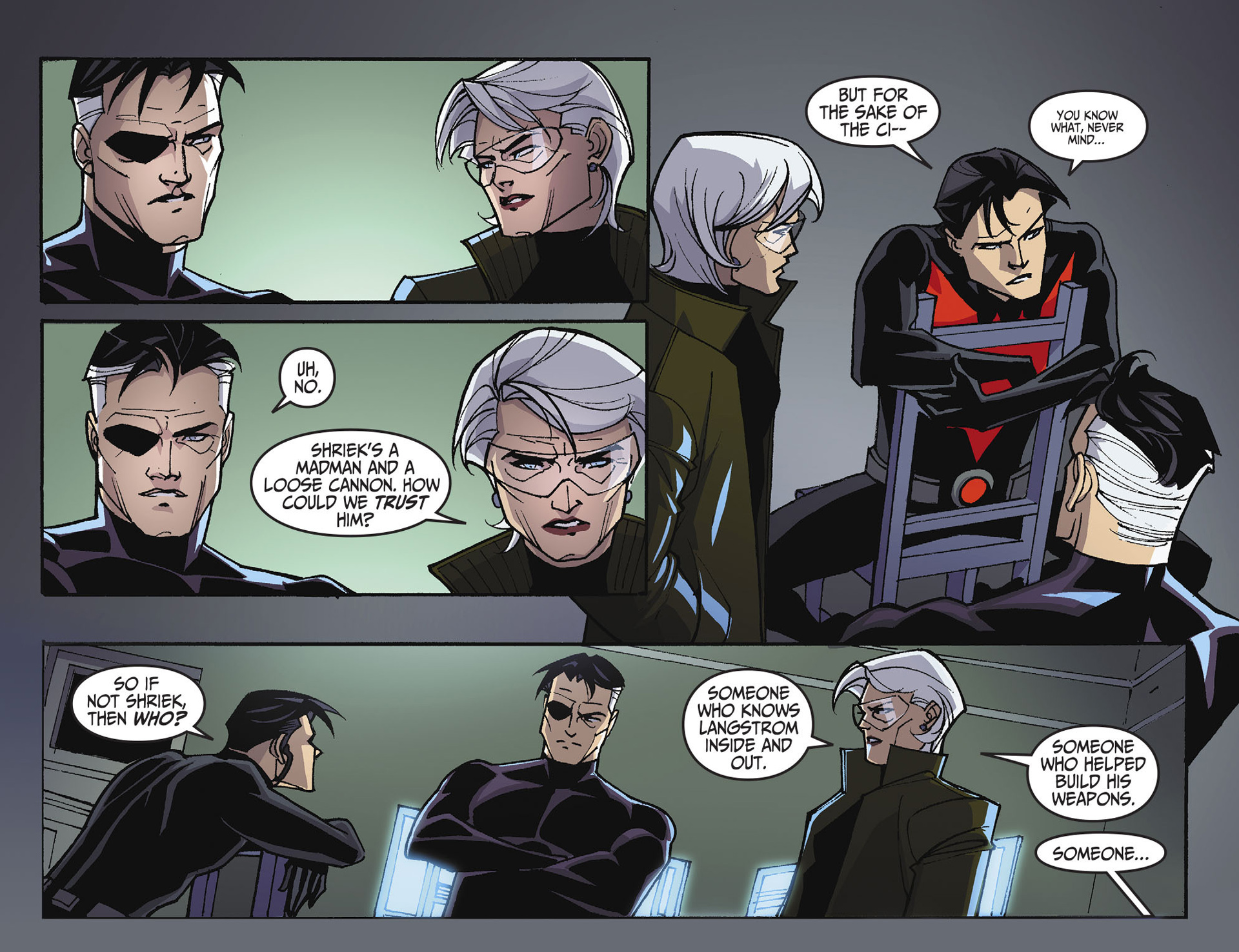 Batman Beyond 2.0 Issue #10 #10 - English 21