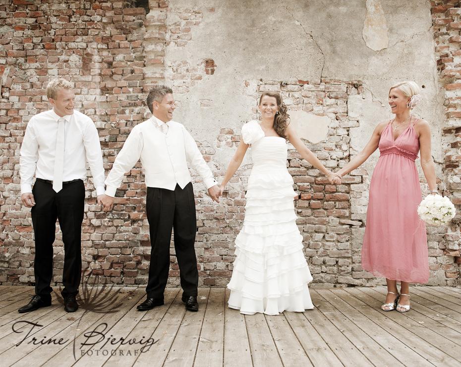 Bryllup på Eidsfoss, pusserstallen