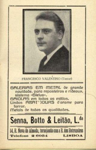 AMERICAN BARITONE FRANK VALENTINO (1907-1991) CD