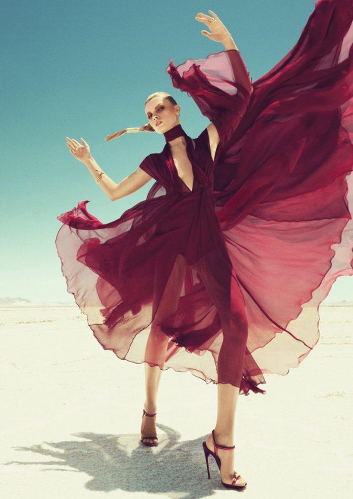 maryna linchuk harper�s bazaar us sep 2011 models