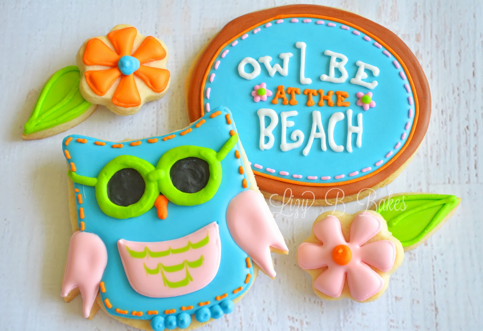 Owl Decorated Cookies Lizy B Owl Cookie Cuties