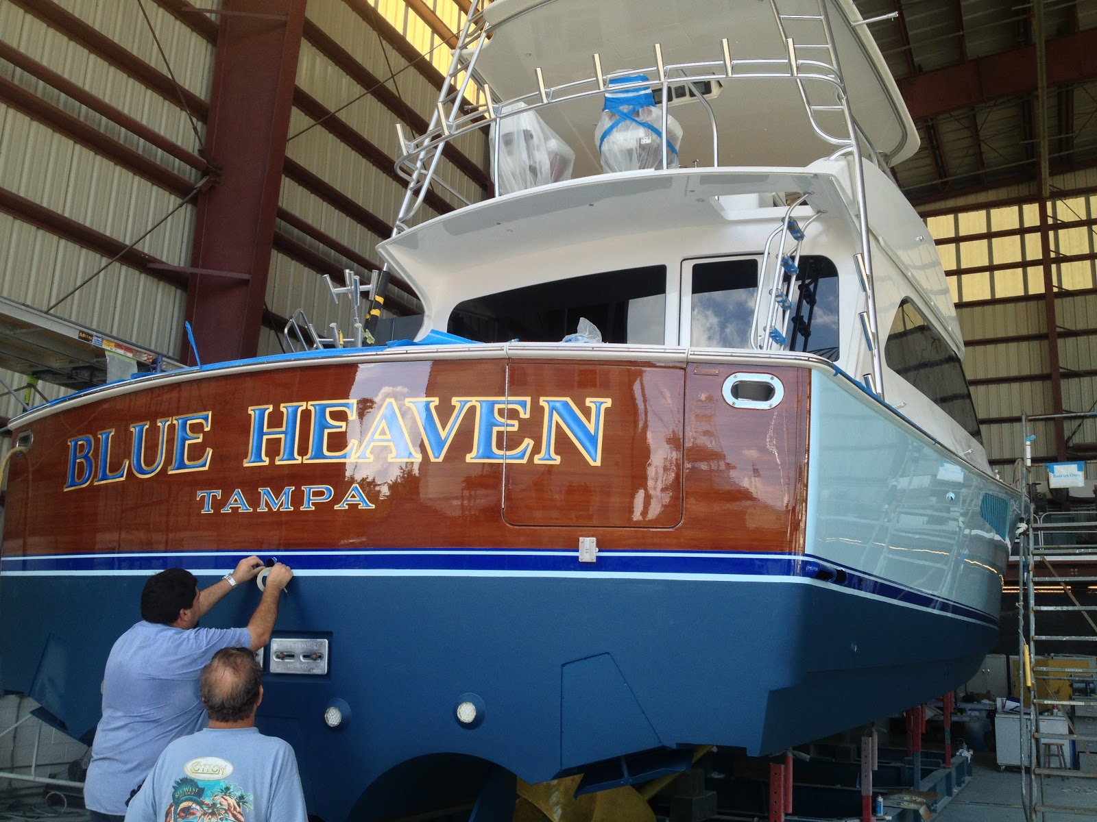 Reports From The Rip The New Blue Heaven