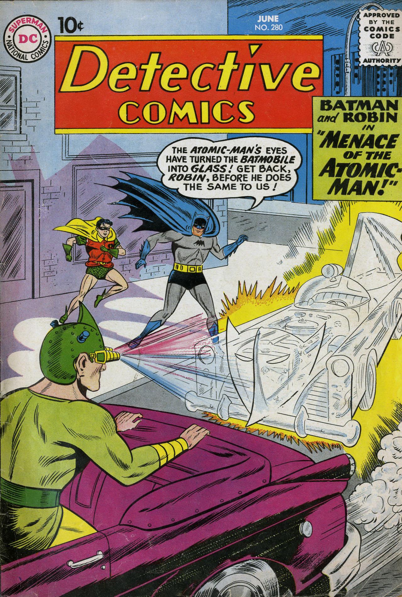 Detective Comics (1937) 280 Page 1