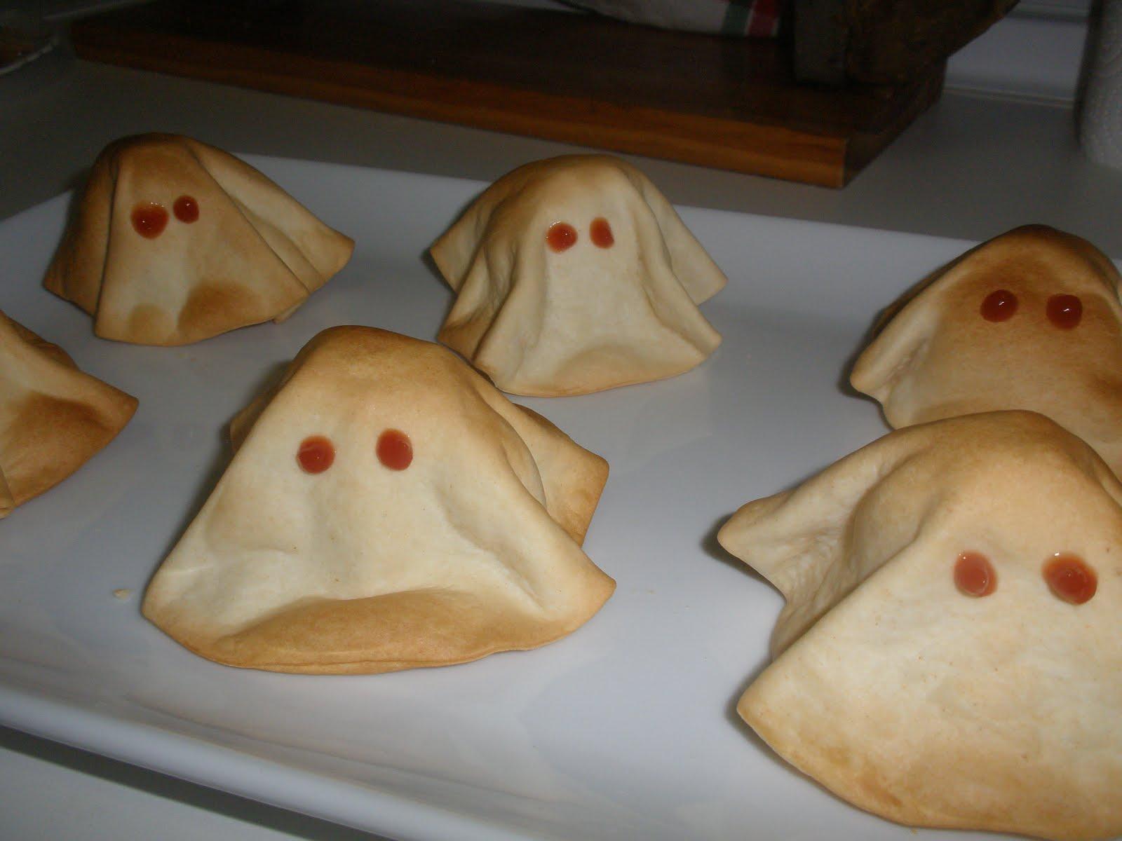 empanadillas fantasmas rellenas