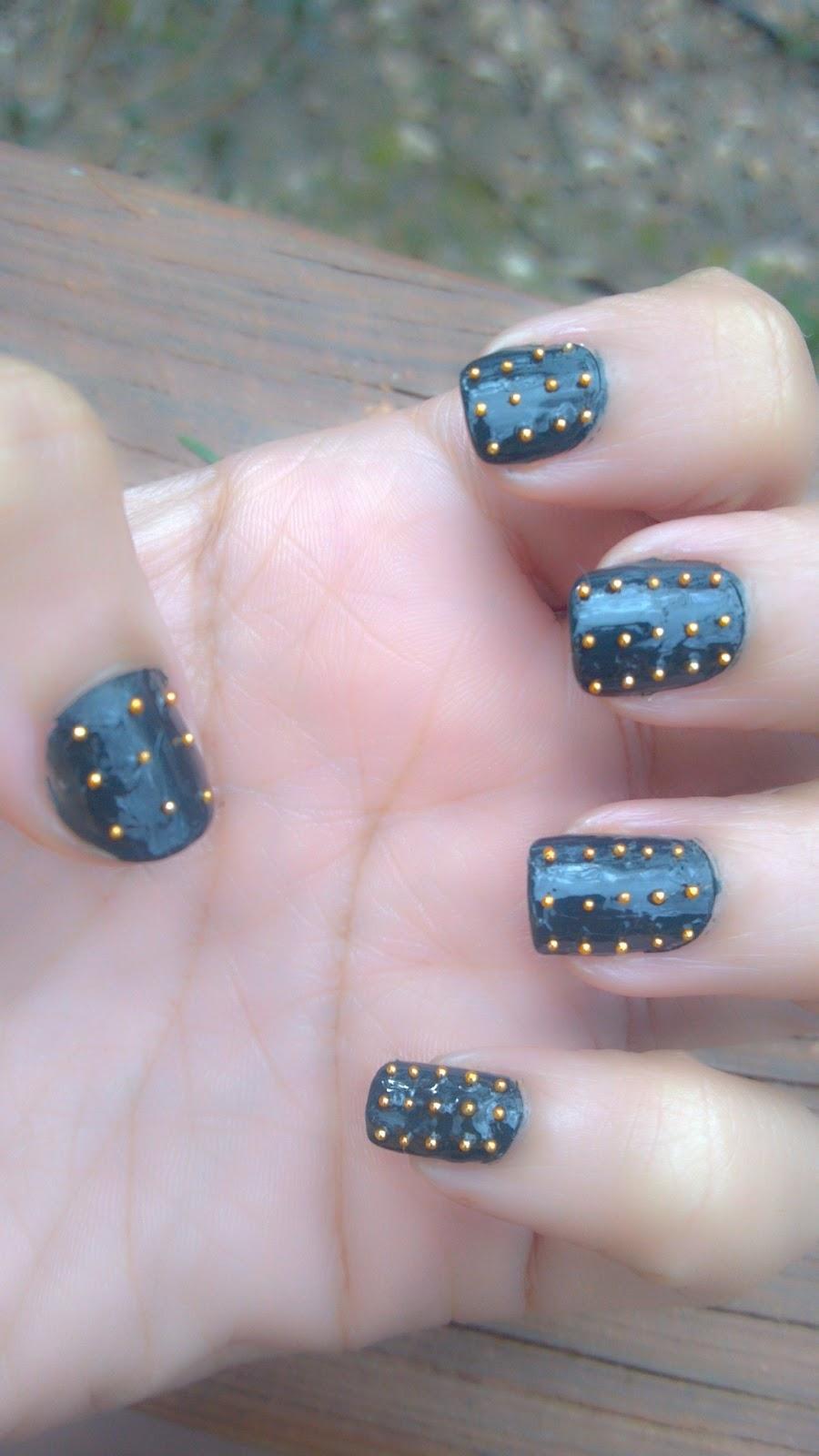Notd Spiked Nails With Essie Stylenomics Michelle Beltre