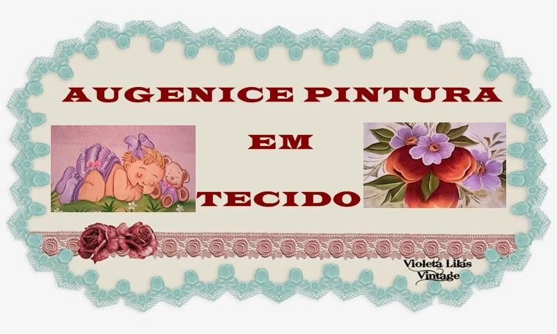 AUGENICE PINTURA EM TECIDO