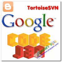 Upload file javarscipt, css to google code by TortoiseSVN