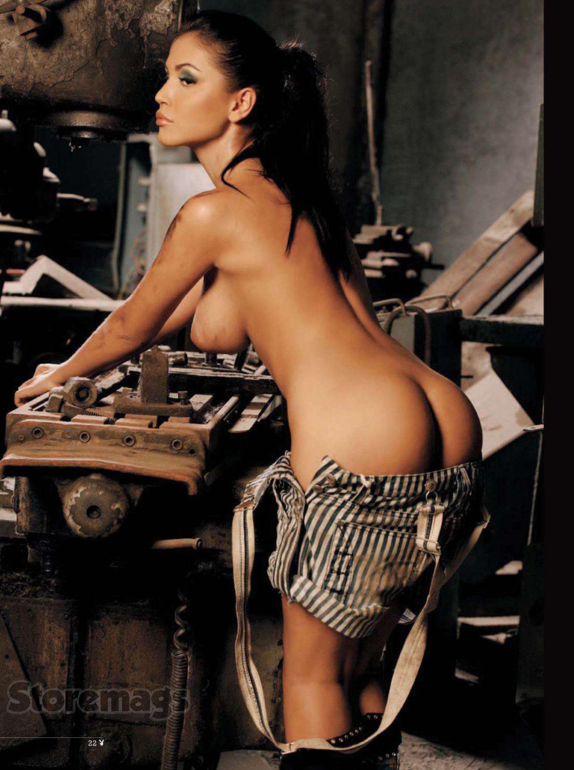 Andreea Mantea Nude In Playboy