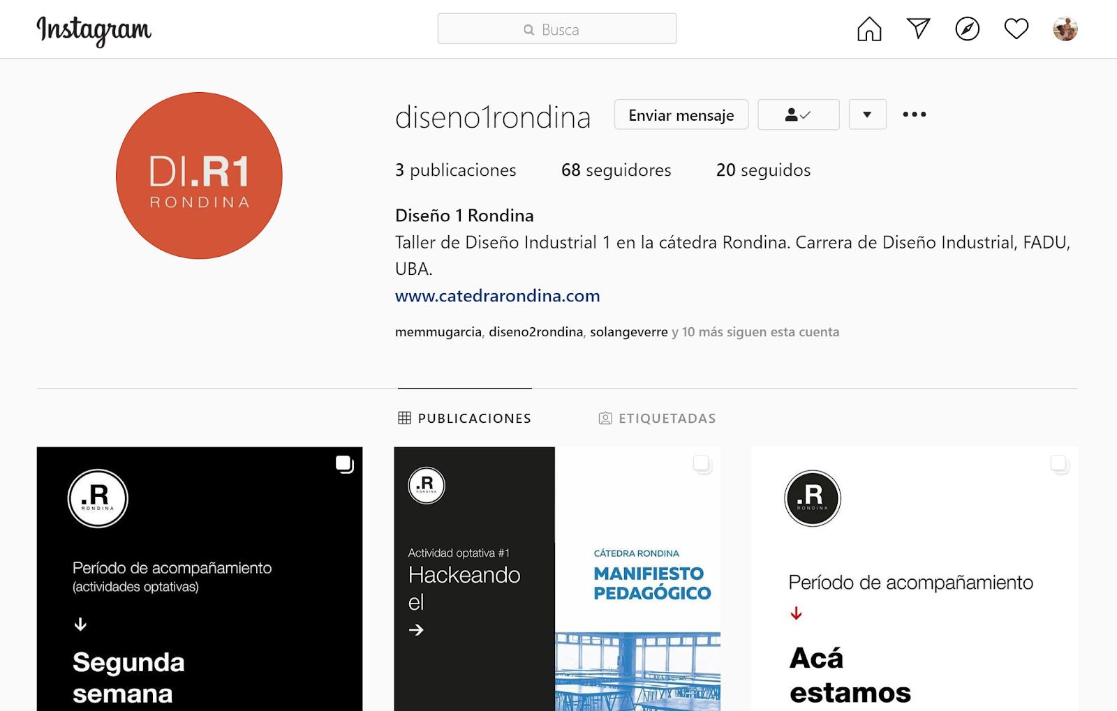 DI1 en Instagram