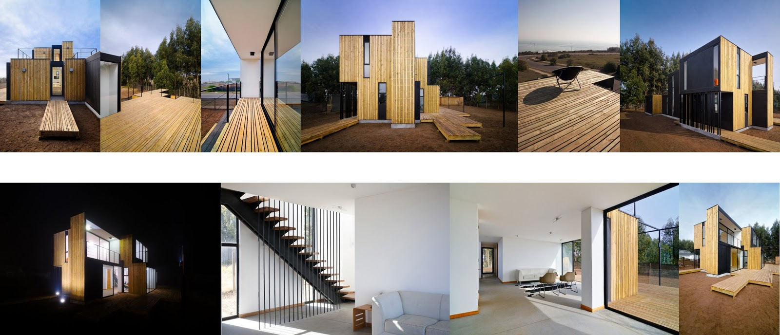 Chilean architecture sip panel house architecture today for Sip panel house