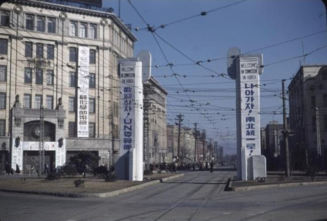 Colour Pictures Of Seoul In 1948 49 Before The Korean War