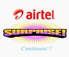Airtel Surprises Continues: Have You Gotten Your Free 100mb Yet?
