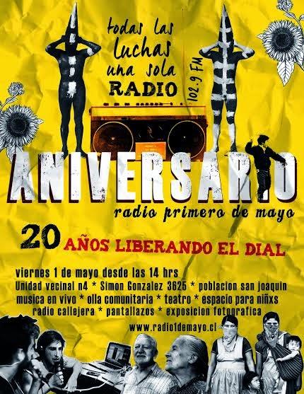 ANIVERSARIO RADIO 1º DE MAYO