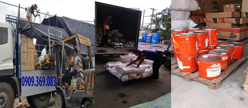 Kho bãi nhận chuyển hàng hóa