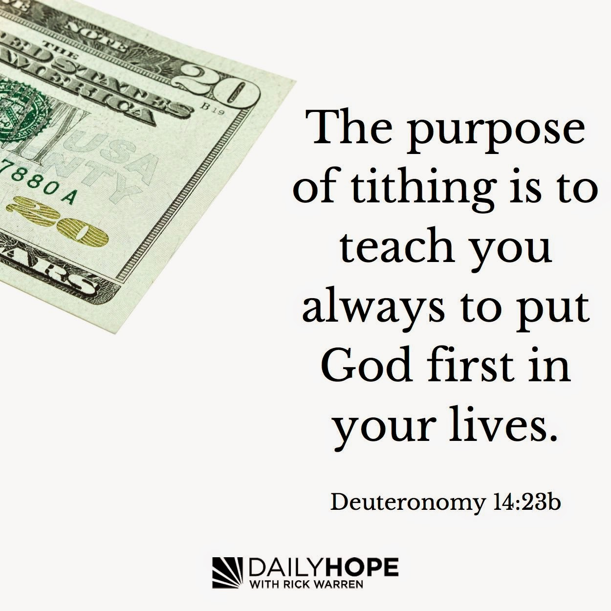 Tithing is what it is 68