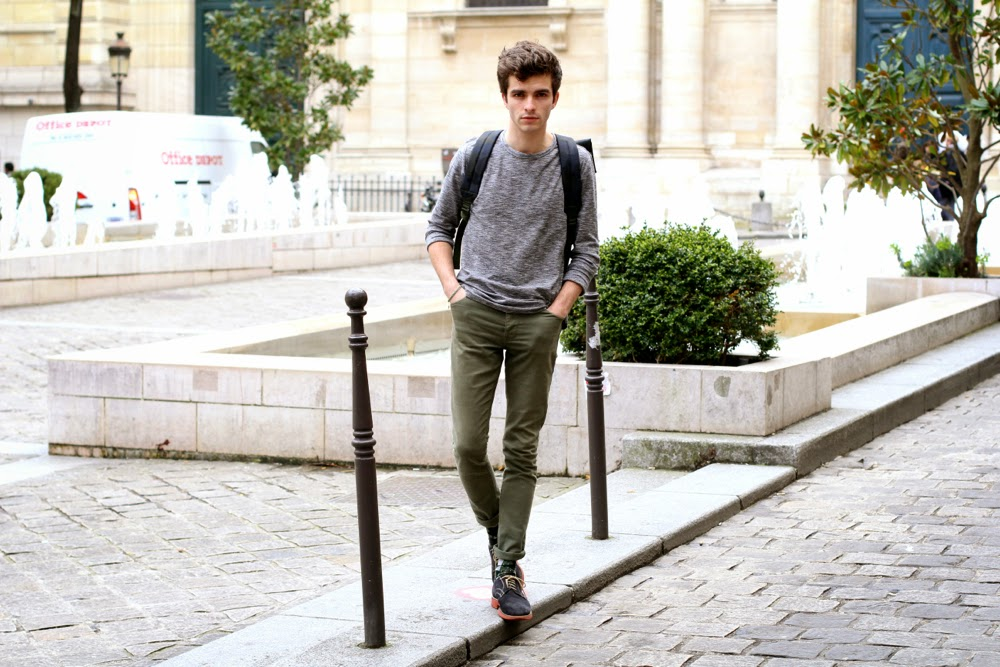 BLOG-MODE-HOMME_RIVER-ISLAND-Asymetrical-top_Asos-Jeans_Fairmont-Shoes_Only-Noa-Bracelet_Sorbonne-Paris_Sac-à-dos-camouflage-Mensfashion-Preppy-Dandy