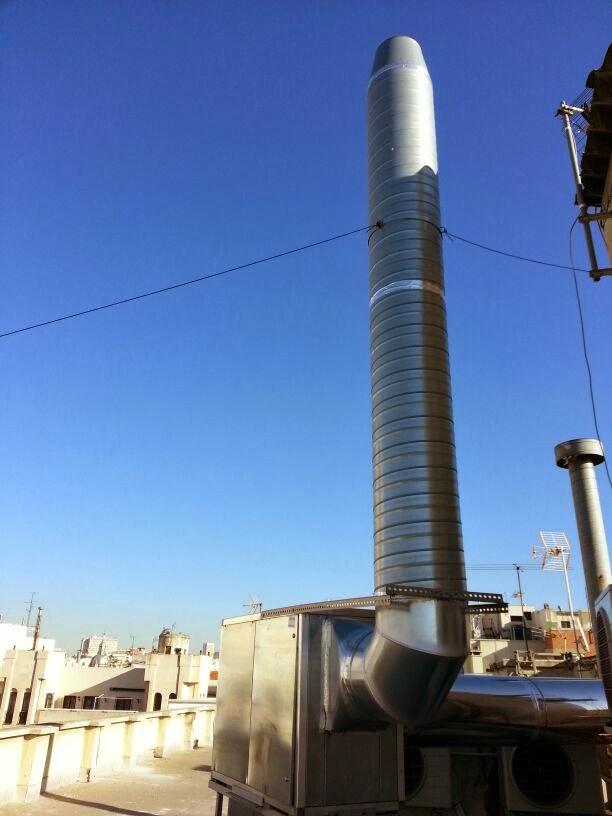 Extracción De Humos Y Ventilación De Cocinas | Instalar Extraccion De Humos En Cocinas Industriales Y Conductos