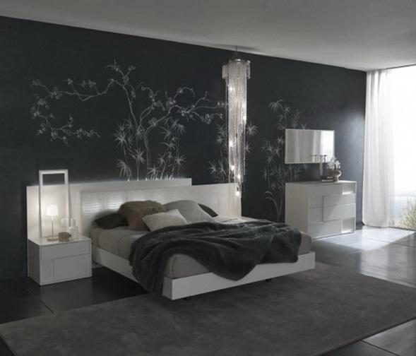 Dormitorios en gris for Dormitorio gris