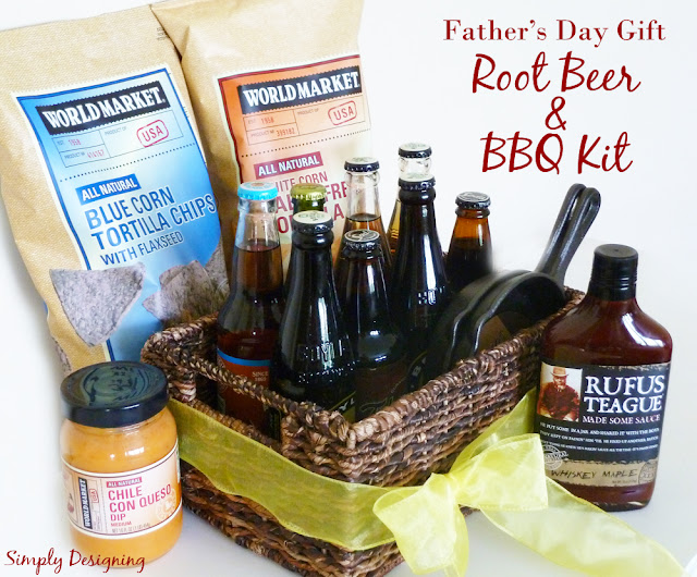 BBQ and Rootbeer Gift Basket - Father's Day #fathersday #ad @worldmarket