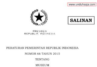 PP No 66 Tahun 2015