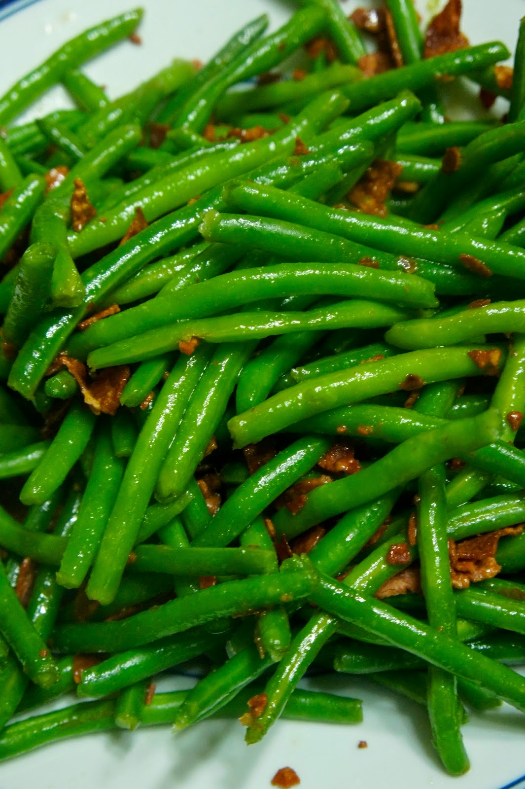 Savory Sweet and Satisfying: Brown Sugar and Bacon Green Beans