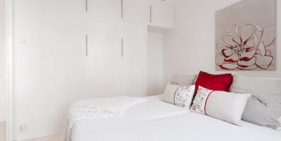 dormitorio apartamento pequeño femenino