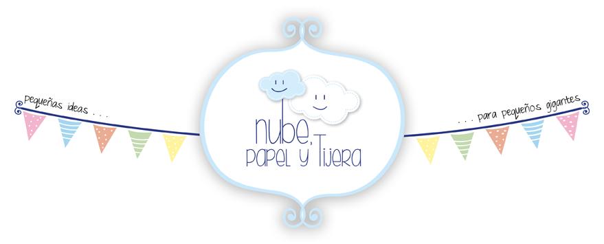 Nube, papel y tijera