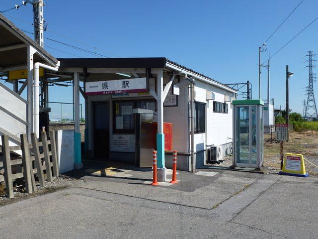 東武伊勢崎線 県駅舎