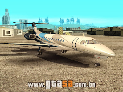 Embraer Legacy 600 Executive para GTA San Andreas