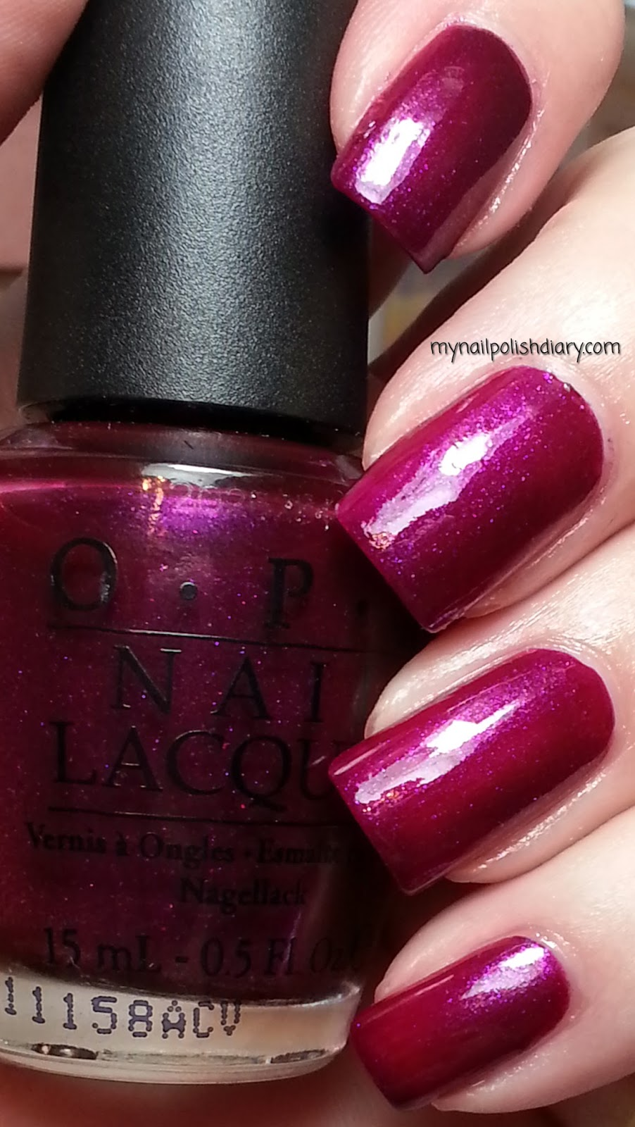 My Nail Polish Diary: OPI Congeniality Is My Middle Name