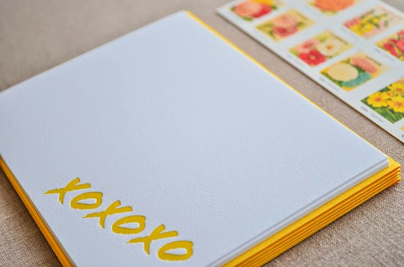 http://www.swankboutiqueonline.com/xoxoxo-letterpress-notecards/