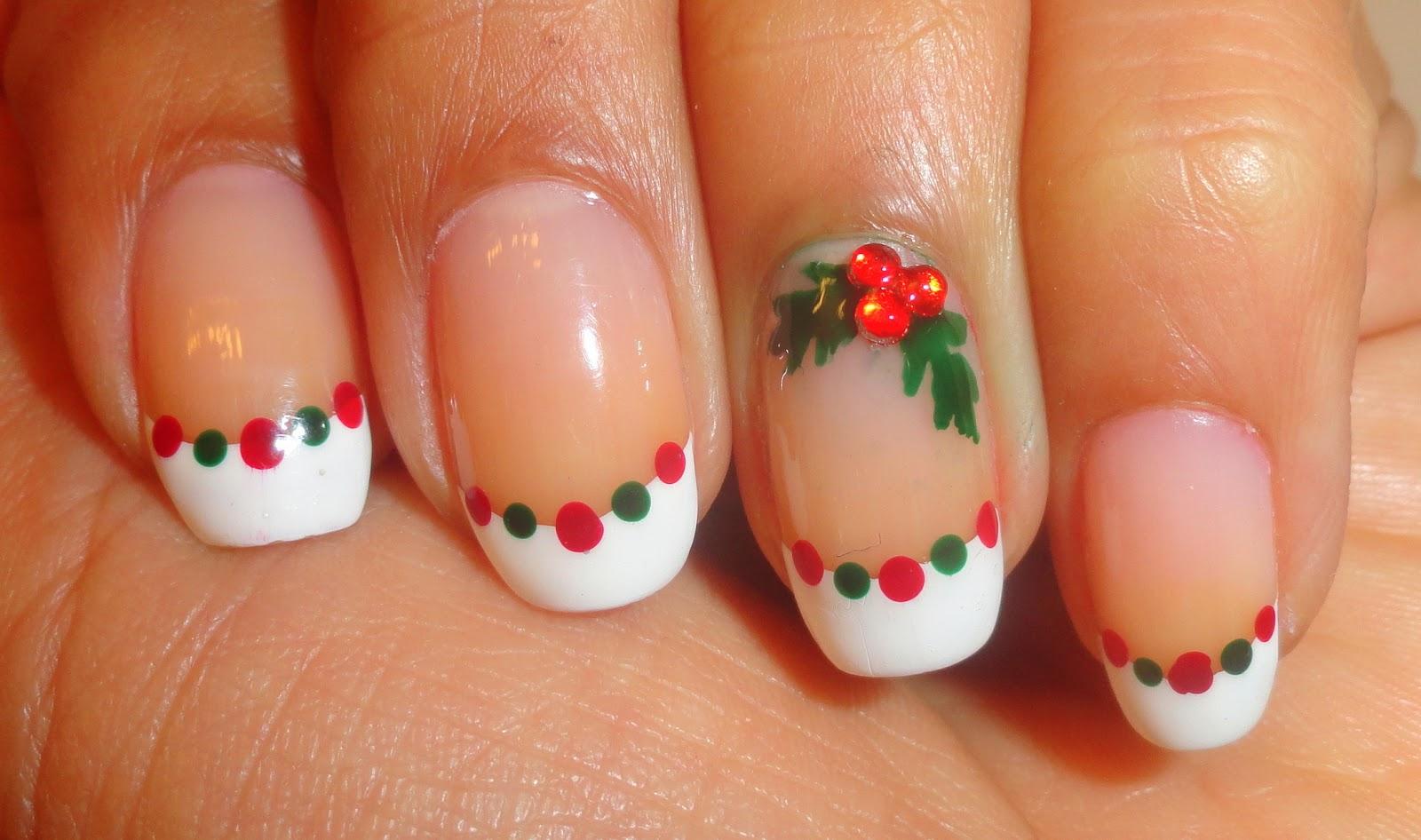 Fancy Schmancy Nails Day 5 12 Days Of Christmas Hollywreaths