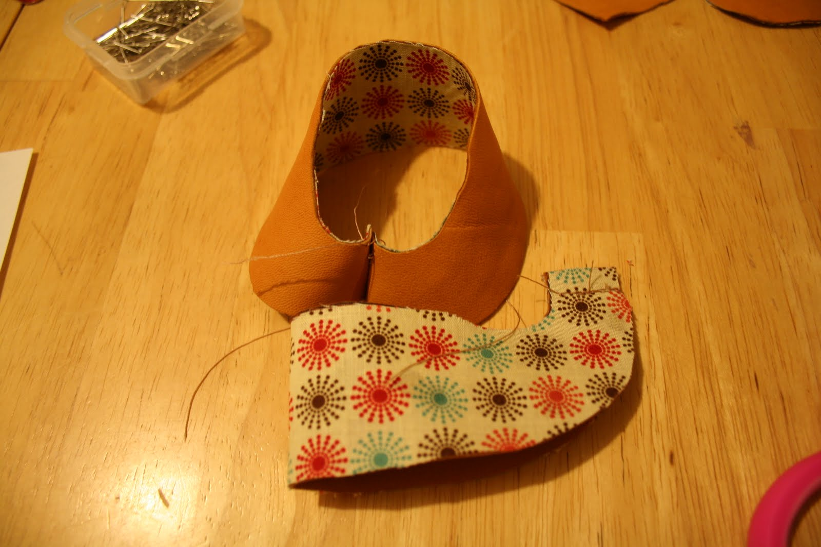 The Mommy Dialogues: DIY baby moccasins