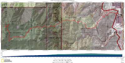 Cactus to Clouds Topo Map