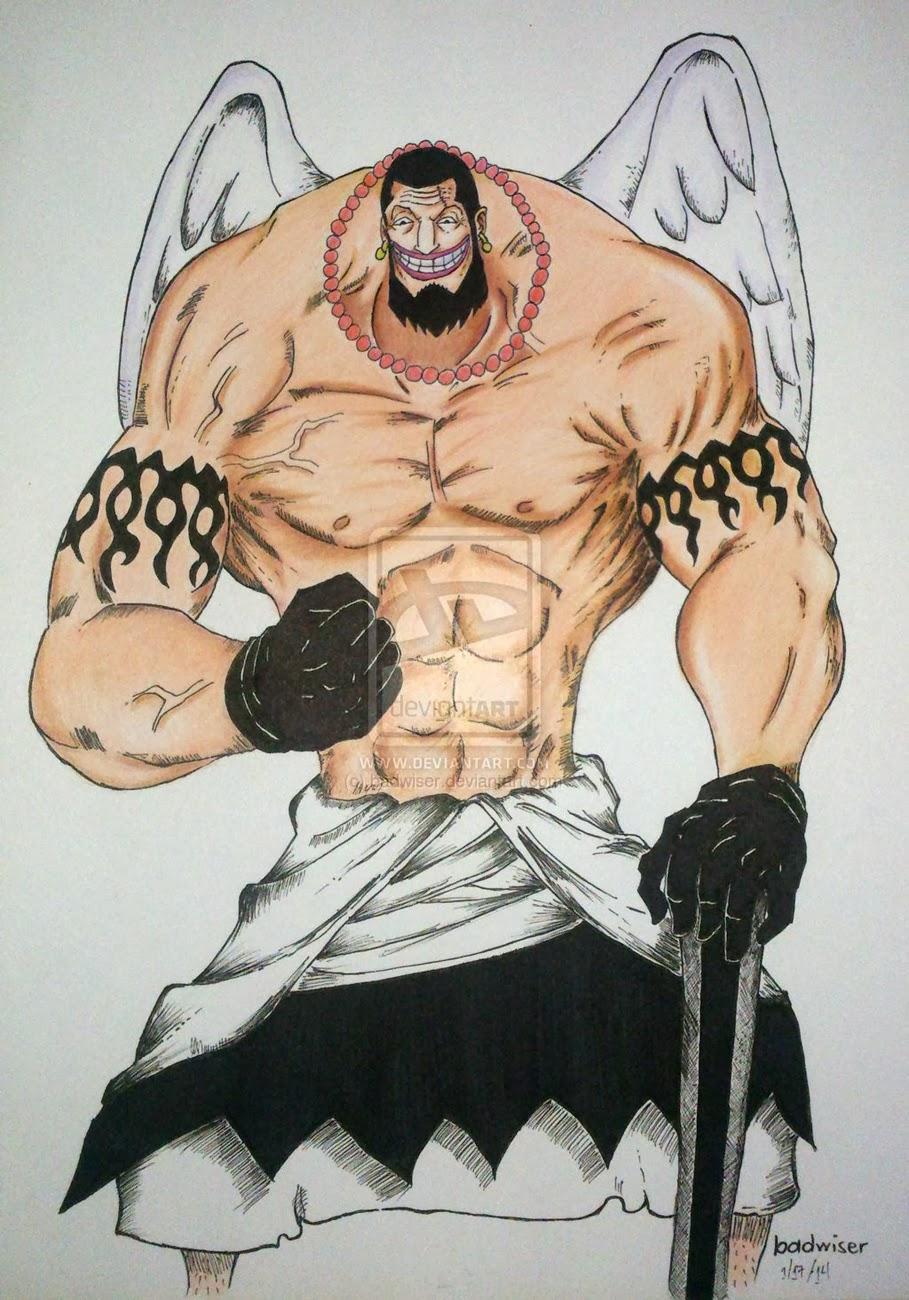 One Piece Chapter 738: Binh đoàn Trebol: Chỉ huy đặc biệt Sugar 021