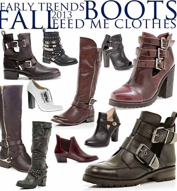 Fall 2013 Trends in Women Shoes