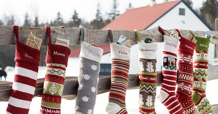 On the Hunt for the Perfect Christmas Stocking | Schue Love
