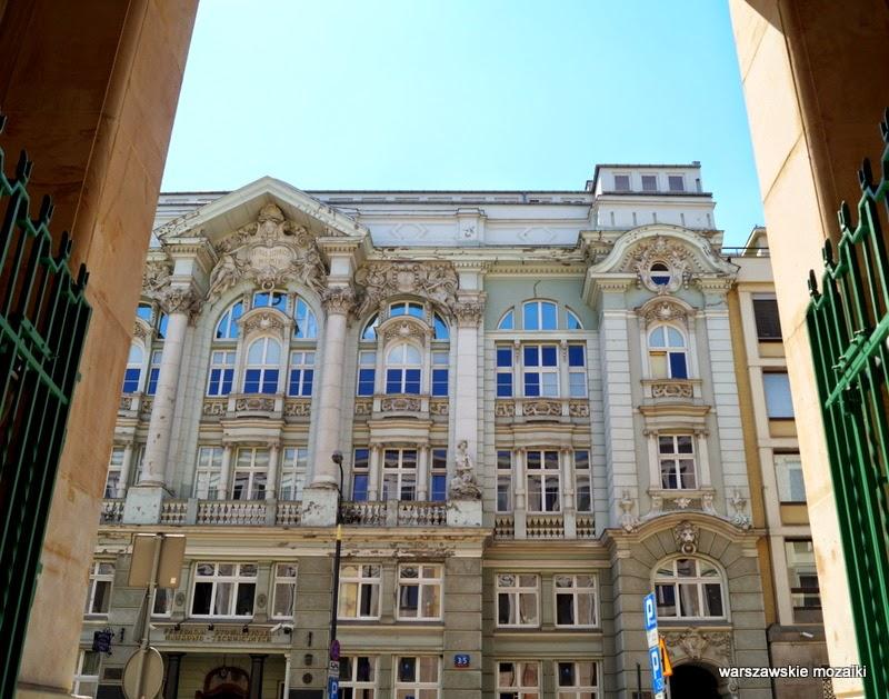 Warszawa Śródmieście kamienica bank Towarzystwo Kredytowe Bank Handlowy zabytek