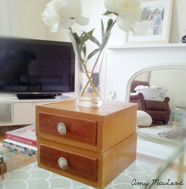 Old wood drawers - Amy MacLeod - Five Kinds of Happy blog