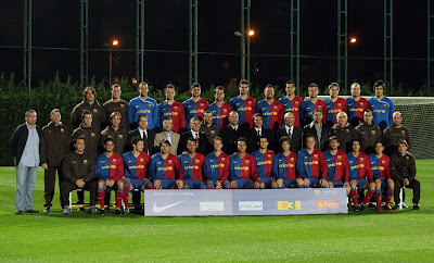 FC.Barcelona Official Players