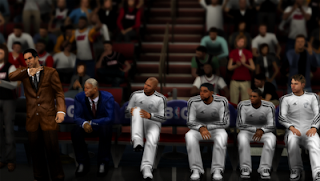 "NBA 2K13 Miami Heat ""White Hot"" Jersey Mod"