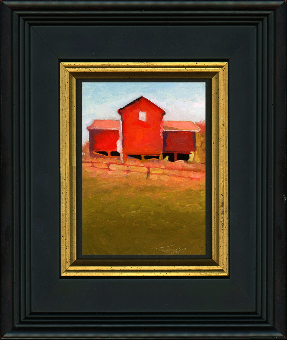Oil Painting Framed, by Catherine Twomey