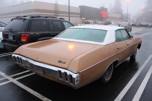 1970 Chevrolet Impala 4-door hardtop.