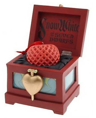 Filmic Light Snow White Archive 2007 Apple Ornament with Heart Box