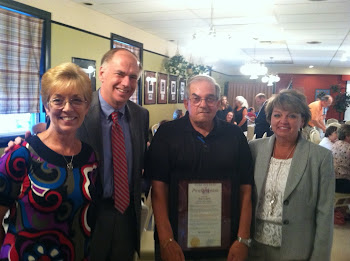 Senator Ritchie and I Congratulate Tom and Lynn Costanzo on their Retirement