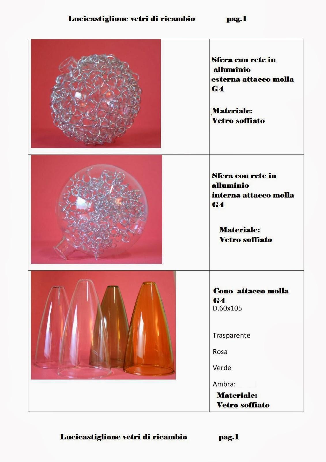 per lampadari in vetro di Murano: Catalogo ricambi in vetro per ...