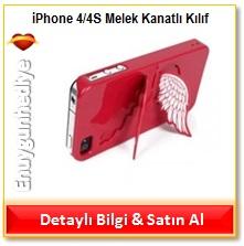 iPhone 4/4S Melek Kanatlı Kılıf
