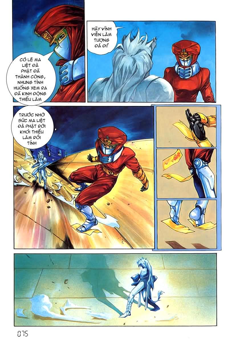 Cyber Weapon Z - Siêu Thần Z chap 4 - Trang 34